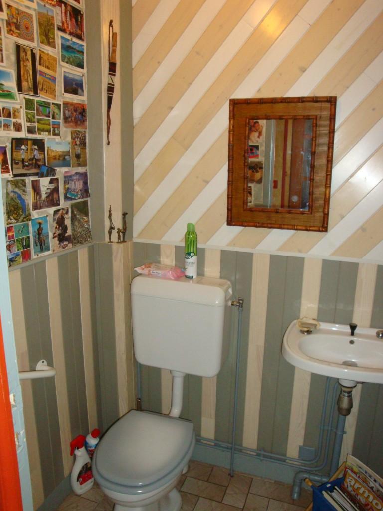 comment changer un wc et d corer des toilettes. Black Bedroom Furniture Sets. Home Design Ideas